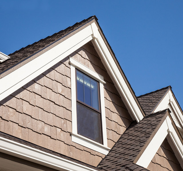 designing green home exteriors steel siding LP Siding Cedar Shake
