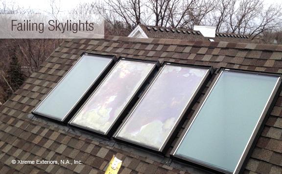 Failing skylights